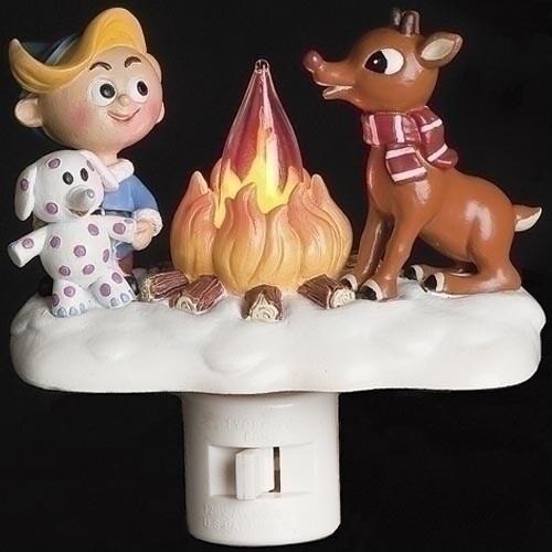 Rudolph Flicker Night Light