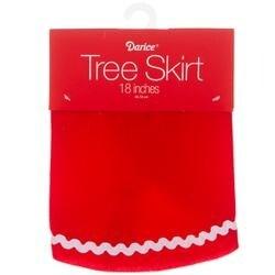 - Mini Red Velvet Tree Skirt