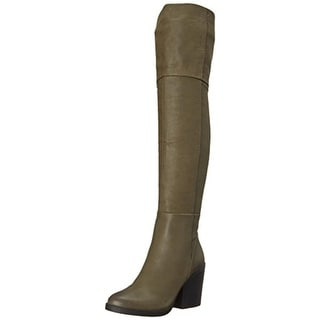 Aldo Womens Casine Leather Over-The-Knee Riding Boots - 5 medium (b,m)
