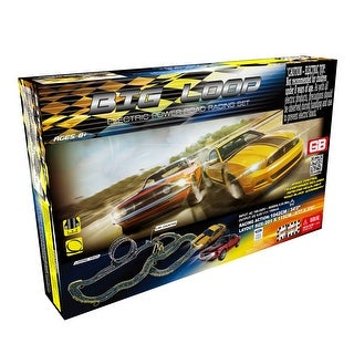 Link to Big Loop Road Racing Slot Car Set - Electric Powered Similar Items in Toy Vehicles