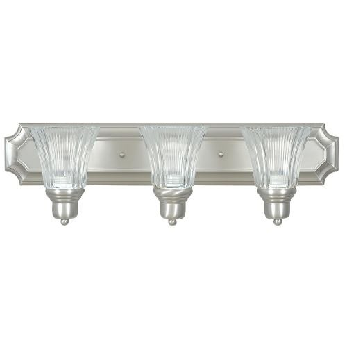 Sunset Lighting F3573 3 Light 300 Watt Bathroom Vanity Light
