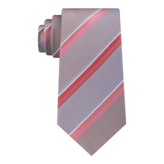 Kenneth Cole Reaction Mens Spectrum Neck Tie Silk Striped - o/s
