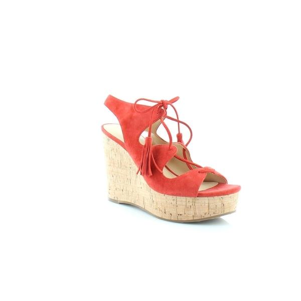Ivanka Trump Zenia Women's Sandals Medium Red