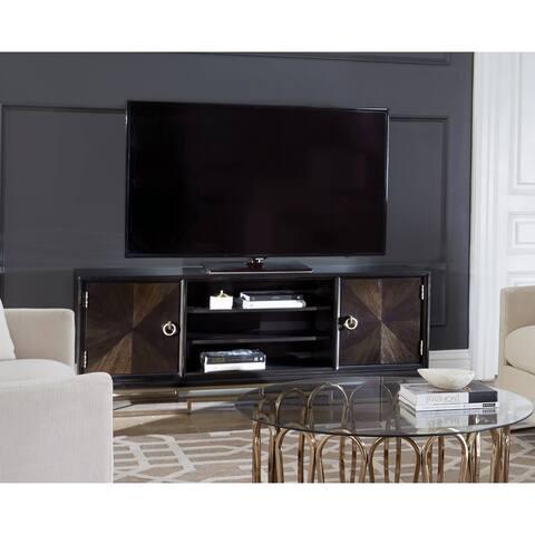 Gabrielse Americano Wood 2-door TV Console