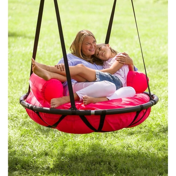 HearthSong 46-in. Cozy Cushion Nest Swing - One-Size. Opens flyout.
