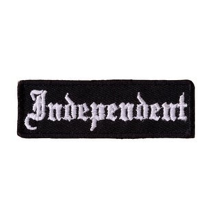 INDEPENDENT Embroidered Iron On Motorcycle Biker Vest Patch P49