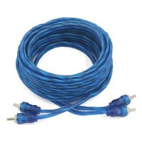 Unique Bargains 4.5M 2 RCA Audio Video System AV Extension Cable Male to Male Cord Wire Blue