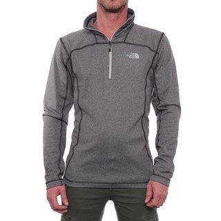 The North Face 100 Cinder 1/4 Zip Pullover Softshell Black Heather