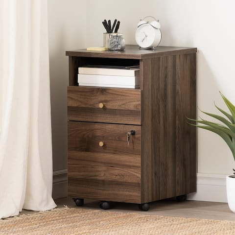 South Shore Talie 2-Drawer Mobile File Cabinet