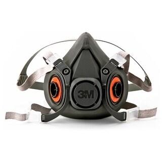 3M 6300 Half Facepiece Reusable Respirator, Large