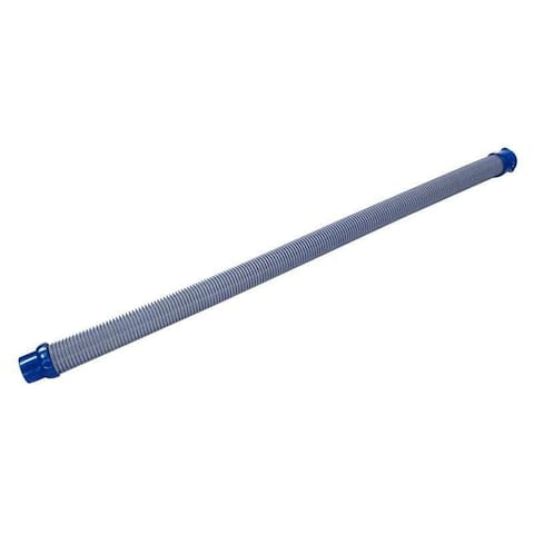 "39.25"" Blue and Gray MX8 Cleaner Twist-Lock Hose"