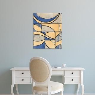 Easy Art Prints Charles McMullen's 'Indigo Complement II' Premium Canvas Art