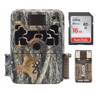 Browning Dark Ops HD 940 Micro 16MP Trail Game Camera with 16GB Card and Reader - Camouflage