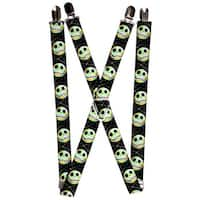 Nightmare Before Christmas Jack Expression10 Electric Glow Suspenders - S