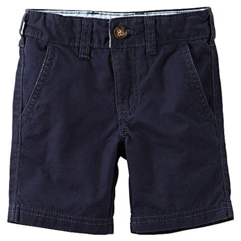 Carter's Baby Boys' Flat-Front Shorts Navy 12 Months