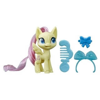 Link to My Little Pony Fluttershy Potion Pony Figure -- 3-Inch Yellow Pony Toy With Brushable Hair, Comb, And Accessories Similar Items in Action Figures