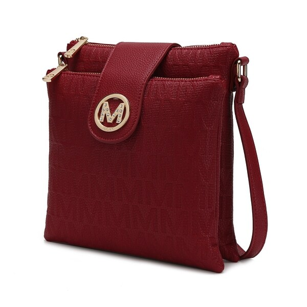 MKF Collection Marietta M Signature Crossbody Bag by Mia K.. Opens flyout.