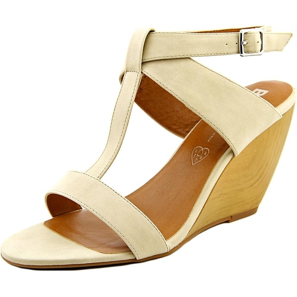 BC Footwear Thrilled Women Open Toe Synthetic Wedge Sandal