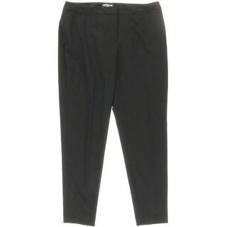 Halogen Womens Taylor Curvy Fit Slim Leg Dress Pants - 10