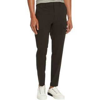 Kenneth Cole Reaction Mens Dress Pants Deep Pocket Slim Fit