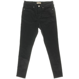 Levi's Womens Stretch Solid Skinny Jeans