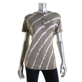 American Living Womens Cotton Tie-Dye T-Shirt - XS