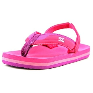 DC Shoes T Grommet Open Toe Synthetic Thong Sandal