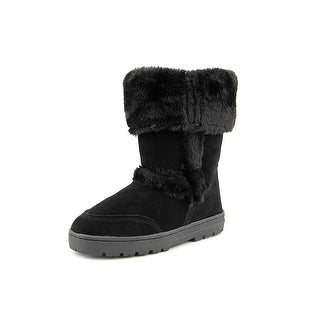 Style & Co Witty Round Toe Suede Winter Boot