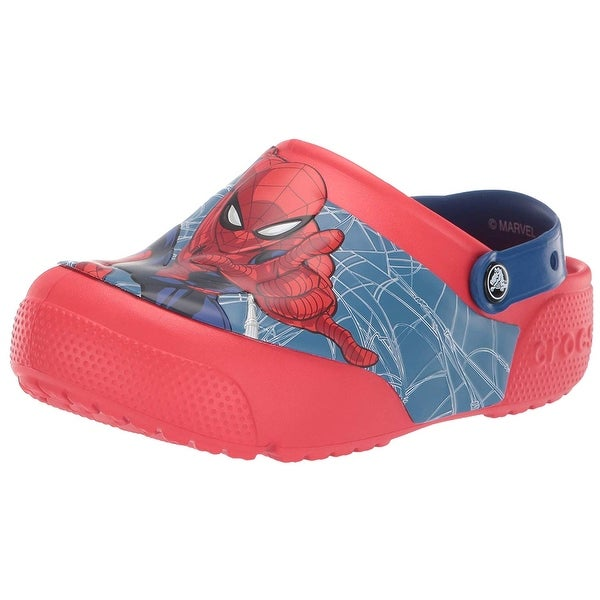Girls Spiderman Light Up Clog