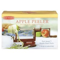 Back To Basics A-505 Apple And Potato Peeler, Red