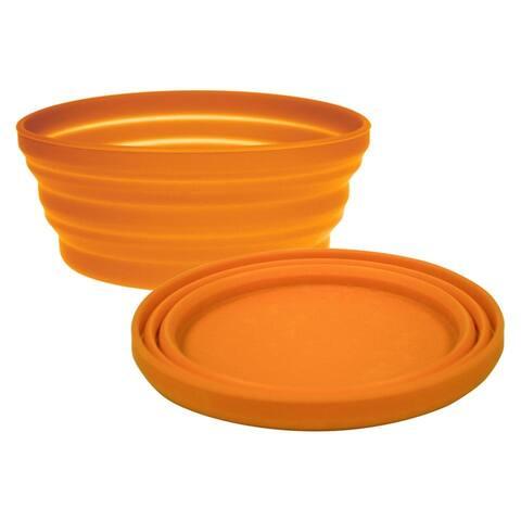 UST 20-02076-08 FlexWare Bowl with Flexable Rim, Orange