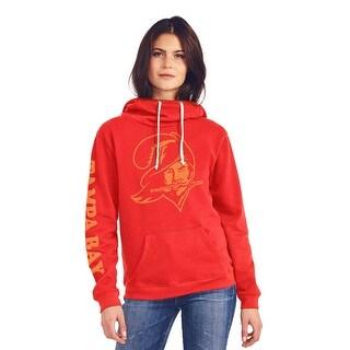 Tampa Bay Buccaneers Women's Cowl Neck Hooded Sweatshirt