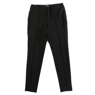 Vince Camuto NEW Black Women's Size Large L Flat Front Skinny Pants