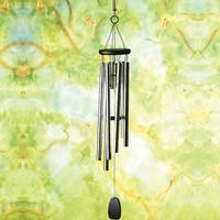 Pachelbel's Canon In D Metal Wind Chimes - Black - 32 in.