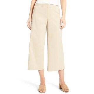 Emerson Rose Beige Women's Size 4X25 Cropped Dress Pants Stretch