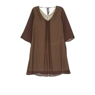 Bobeau Lola Shift Print Dress