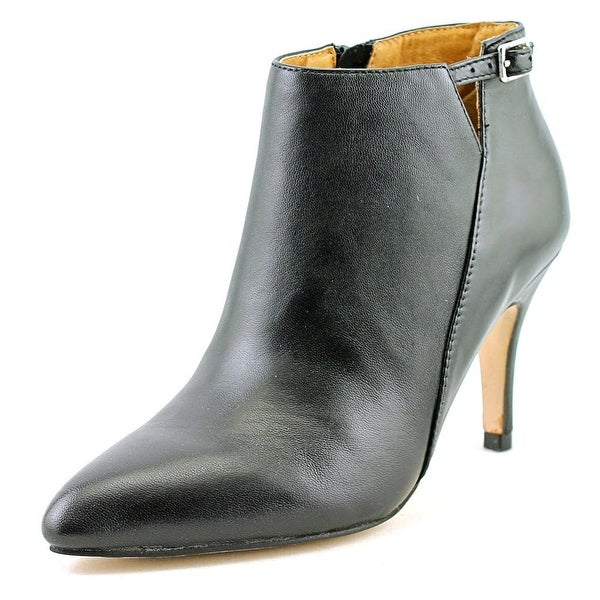 Corso Como Roster Women Pointed Toe Leather Black Ankle Boot