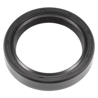 Oil Seal, TC 40mm x 52mm x 10mm, Nitrile Rubber Cover Double Lip - 40mmx52mmx10mm