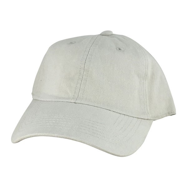0b250b7980a Shop CapRobot Slouch Unstructured Adjustable Hat Strapback Dad Cap - Beige  - Free Shipping On Orders Over  45 - Overstock.com - 13404329