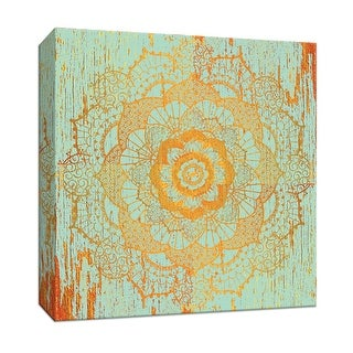 """PTM Images 9-146934  PTM Canvas Collection 12"""" x 12"""" - """"Moroccan Medallion I"""" Giclee Asian Art Print on Canvas"""