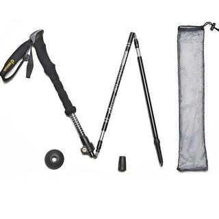 Trekking Hiking Poles Telescoping Walking Sticks Adjustable Ultralight 7075 Aluminum