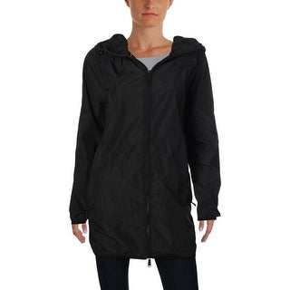 Calvin Klein Performance Womens Packable Rain Coat Fall Lightweight