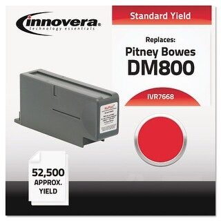Innovera Compatible 766-8 Postage Meter Ink Red Ink Catridge - Red