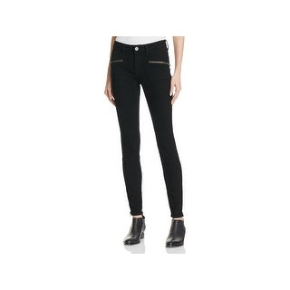 Joie Womens The Moto Skinny Jeans Low Rise Denim