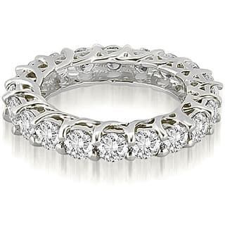 3.30 ct.tw 14K White Gold Round Diamond Eternity Ring|https://ak1.ostkcdn.com/images/products/is/images/direct/0a37efd1ed760b32f8848a10e6abf101cb9a8196/3.30-cttw.-14K-White-Gold-Round-Diamond-Eternity-Ring.jpg?impolicy=medium
