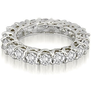 3.30 ct.tw 14K White Gold Round Diamond Eternity Ring