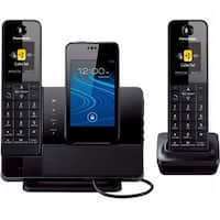 Link2Cell Dock Style Bluetooth Cell Convergance with 2 Handsets -
