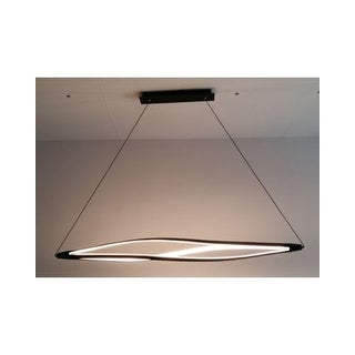"""Contempo Lights SHSC91 Twist 47"""" Wide Linear LED Chandelier (2 options available)"""