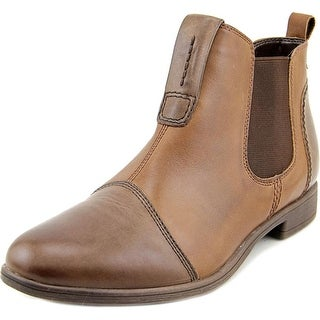 Earth Dorset Women  Round Toe Leather Brown Ankle Boot