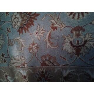 Safavieh Handmade Heritage Timeless Traditional Blue/ Beige Wool Area Rug
